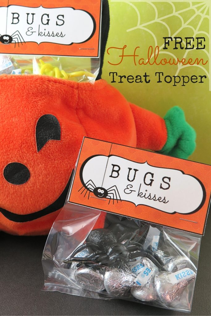 Halloween Printable Treat Topper
