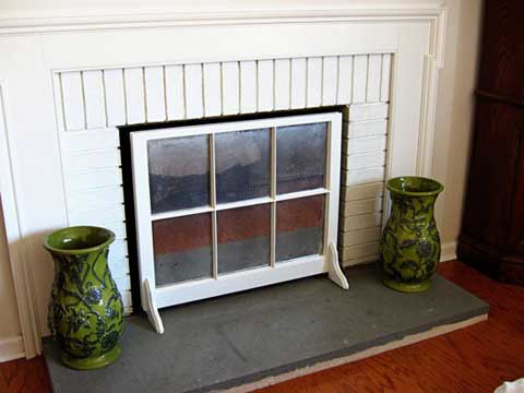 Handmade Fireplace Screen
