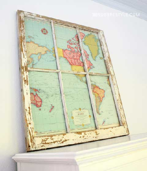 Map Wall Display