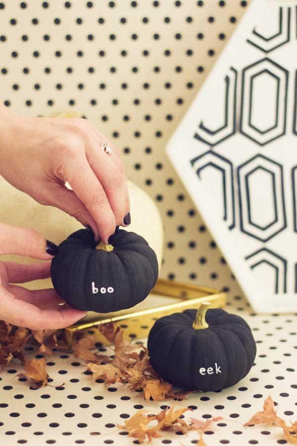 Tiny Messages Pumpkins
