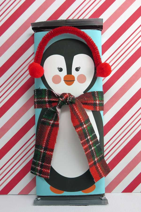 Free Printable Penguin Candy Bar Wrapper