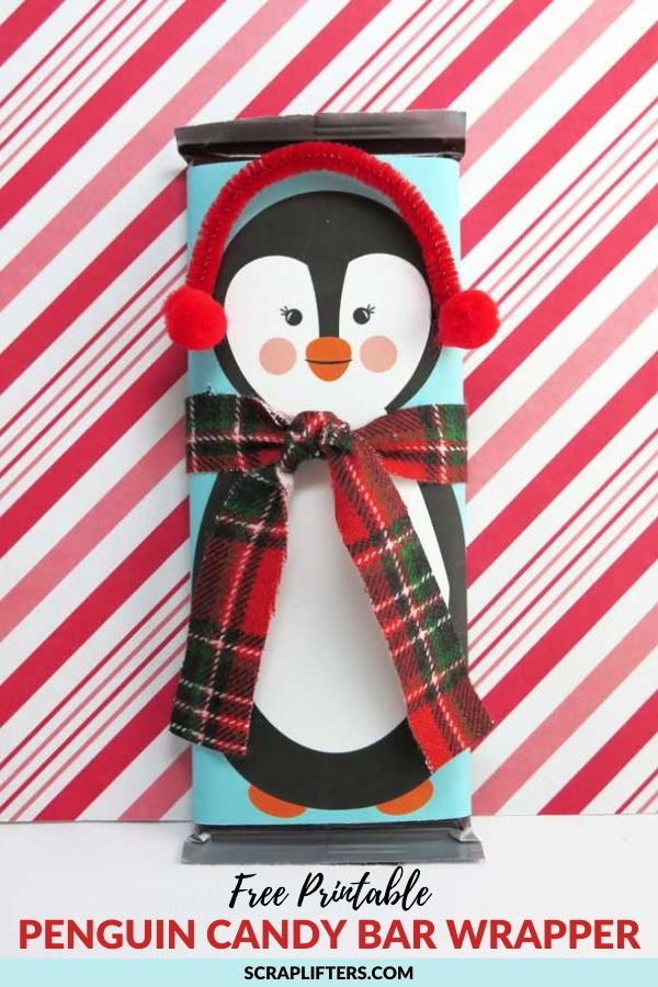Free Printable Penguin Candy Bar Wrappers