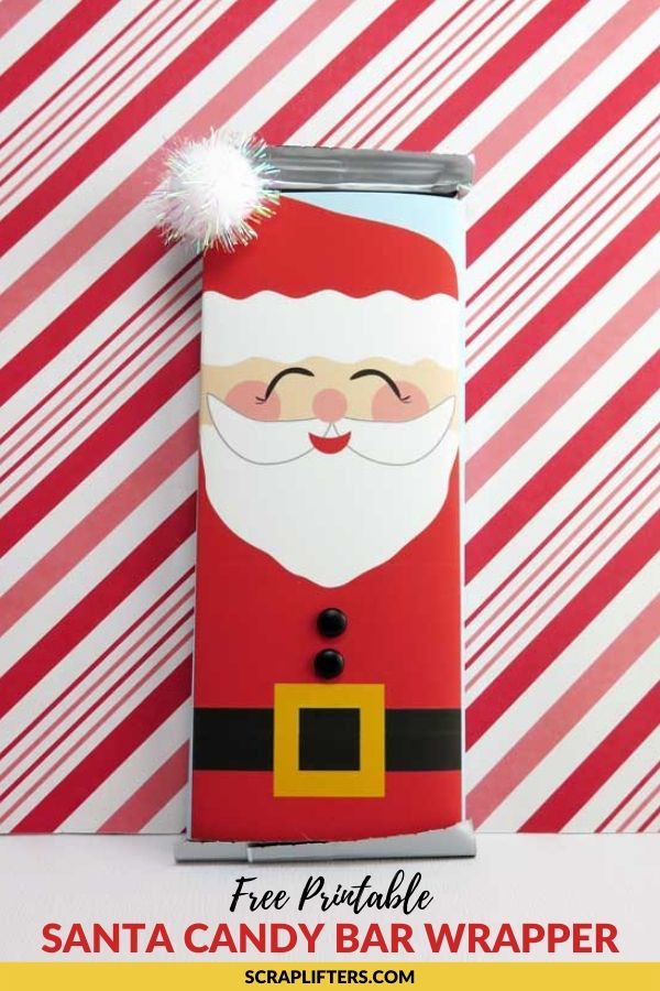 Free Printable Santa Candy Bar Wrappers